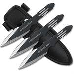 Zues's Thunder Bolts Throwing Knives 3 Pcs Set