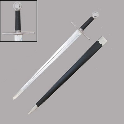 Sword of Alexandria with Leather Scabbard