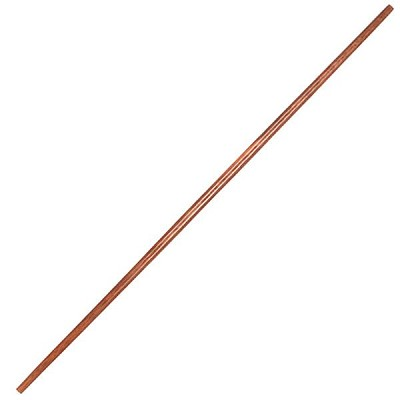 Tapered Red Oak Wood Martial Arts Karate Bo Jo Staff - 5 Ft Long