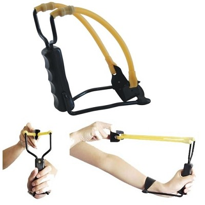 Metal Handle Slingshot Sling Shot