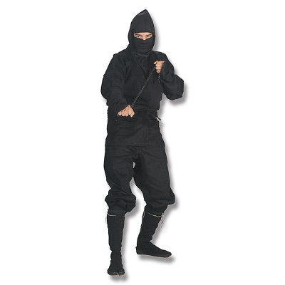 Black Ninja Uniform - X-Small