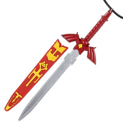 Shadow Zelda Master Hyrule Warrior Sword Necklace