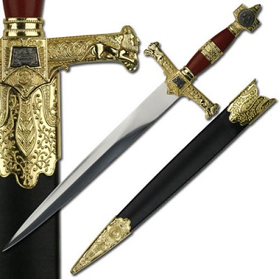 King Solomon Dagger - Red