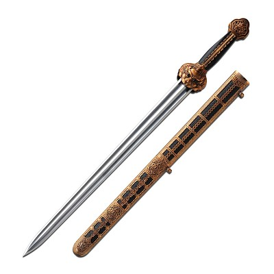 Ming Dynasty Imperial Sword Carbon Steel Blade Collectible Sword