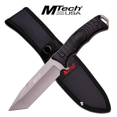 Mtech Tanto Full Tang Combat Blade Survival Knife
