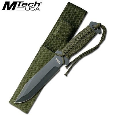 10 1/2 Inch Overall Combat Hunter Knife W/ Sheath
