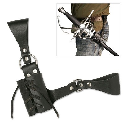 Leather Sword Frog