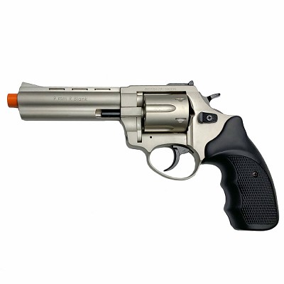 "Zoraki R1 4.5"" Barrel - Front Firing Blank Gun Revolver Satin Finish"
