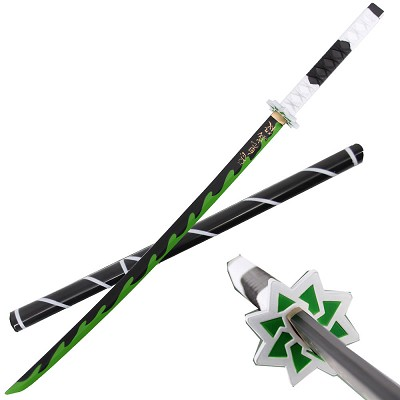 "41"" Foam Anime Sanemi Shinazugawa Cosplay Sword with Scabbard"