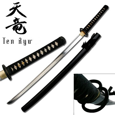 Ten Ryu Forged Musashi Katana