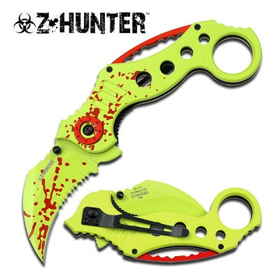 Zombie Hunter Spring Assist - Karambit Tactical Knife