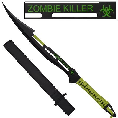 Zombie Killer Apocalyptic Decapitator Sword