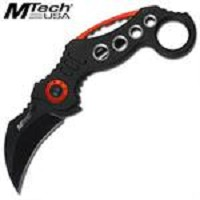 Pocket Knives KARAMBIT CLAW BLACK Blade Tactical Knife