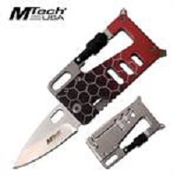 Folding Wallet Knife Multi Tool 3.25