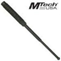 Mtech 16 Inch Expandable Police Baton Rubber Grip