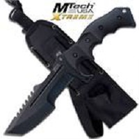 MTech Xtreme 5mm Thick Blade Hunting Tactical Military Knife Fixed Blade