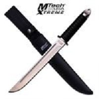 Samurai Warrior Tanto 16 1/2 Inch Combat Fighter Tactical Dagger Knife