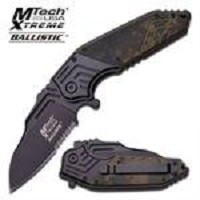 Urban Digital Camo Spring Assisted Opening Pocket Knife