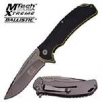 Xtreme Ballistic Assisted Opening Knives With G10 Handle