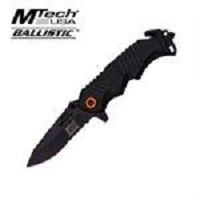 MTech Xtreme Spring Assisted  Knife 5 Inches Closed  With Black Handle