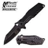 MTech Xtreme Spring Assisted Knife 4.75 Inches With Black Handle