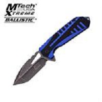 MTech Xtreme 4.5 Inches Spring Assisted Folder With Blue Handle