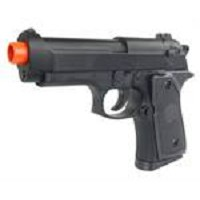 ZM21 Compact Tactical FPS-225 Metal Spring Airsoft Pistol