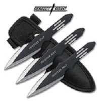 Thunder Bolt Throwing Knives 3 Piece Set