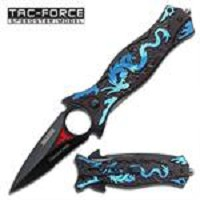 Spring Assist - Blue Dragon Knife - Spear & Spike Tactical