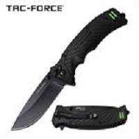 Tac-Force Spring Assisted Folding Pocket Knife With Survival Whistle