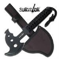 Military Combat Axe Hatchet With Sheath